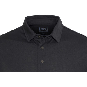 super.natural Essential Polo Homme, jet black